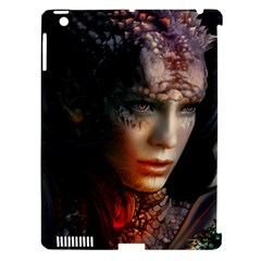 Digital Fantasy Girl Art Apple Ipad 3/4 Hardshell Case (compatible With Smart Cover)