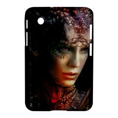 Digital Fantasy Girl Art Samsung Galaxy Tab 2 (7 ) P3100 Hardshell Case