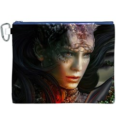Digital Fantasy Girl Art Canvas Cosmetic Bag (xxxl)