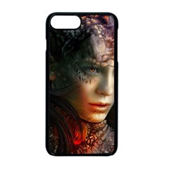 Digital Fantasy Girl Art Apple Iphone 7 Plus Seamless Case (black)