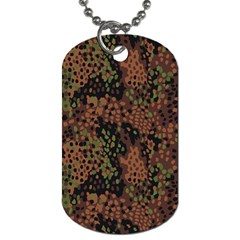 Digital Camouflage Dog Tag (one Side)