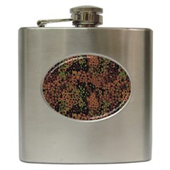Digital Camouflage Hip Flask (6 Oz)