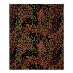 Digital Camouflage Shower Curtain 60  X 72  (medium)