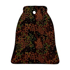 Digital Camouflage Bell Ornament (two Sides)