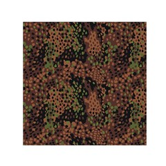 Digital Camouflage Small Satin Scarf (square)