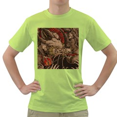 Chinese Dragon Green T Shirt