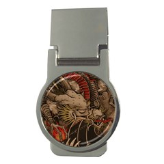 Chinese Dragon Money Clips (round)