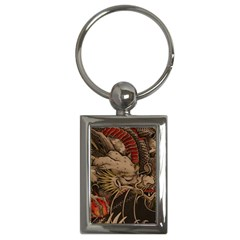 Chinese Dragon Key Chains (rectangle)