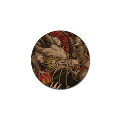 Chinese Dragon Golf Ball Marker (4 Pack)