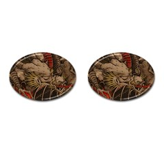 Chinese Dragon Cufflinks (oval)
