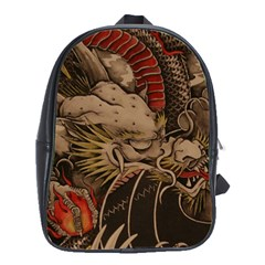 Chinese Dragon School Bags(large)