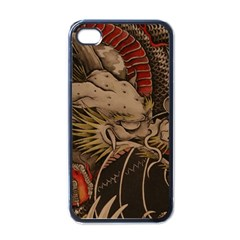 Chinese Dragon Apple Iphone 4 Case (black)