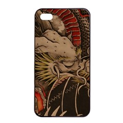 Chinese Dragon Apple Iphone 4/4s Seamless Case (black)