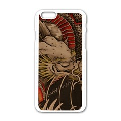 Chinese Dragon Apple Iphone 6/6s White Enamel Case
