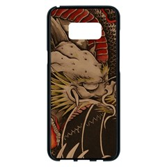 Chinese Dragon Samsung Galaxy S8 Plus Black Seamless Case