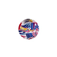 United States Of America Usa  Images Independence Day 1  Mini Buttons