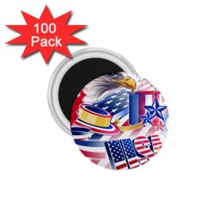United States Of America Usa  Images Independence Day 1 75  Magnets (100 Pack)