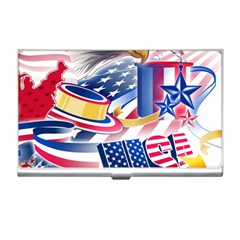 United States Of America Usa  Images Independence Day Business Card Holders