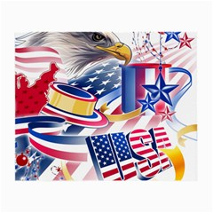 United States Of America Usa  Images Independence Day Small Glasses Cloth