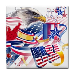 United States Of America Usa  Images Independence Day Face Towel