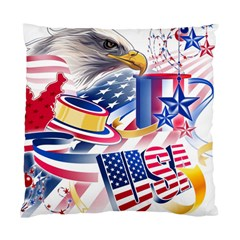 United States Of America Usa  Images Independence Day Standard Cushion Case (one Side)