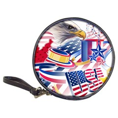 United States Of America Usa  Images Independence Day Classic 20 Cd Wallets