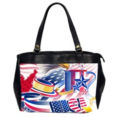 United States Of America Usa  Images Independence Day Office Handbags (2 Sides)