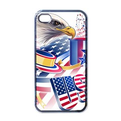 United States Of America Usa  Images Independence Day Apple Iphone 4 Case (black)