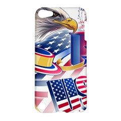 United States Of America Usa  Images Independence Day Apple Ipod Touch 5 Hardshell Case
