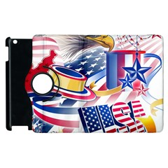 United States Of America Usa  Images Independence Day Apple Ipad 3/4 Flip 360 Case