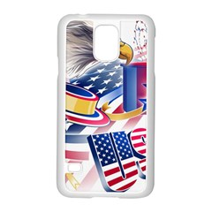 United States Of America Usa  Images Independence Day Samsung Galaxy S5 Case (white)