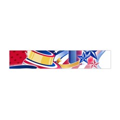 United States Of America Usa  Images Independence Day Flano Scarf (mini)