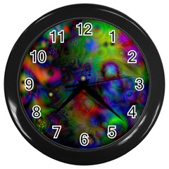Full Colors Wall Clocks (black)