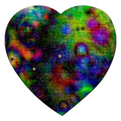Full Colors Jigsaw Puzzle (heart)