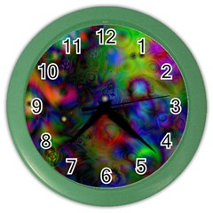 Full Colors Color Wall Clocks