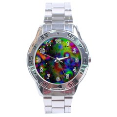 Full Colors Stainless Steel Analogue Watch