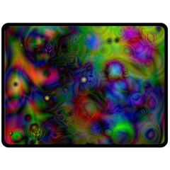 Full Colors Double Sided Fleece Blanket (large)