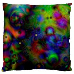 Full Colors Large Flano Cushion Case (one Side)