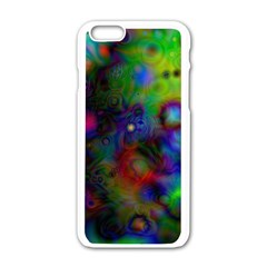 Full Colors Apple Iphone 6/6s White Enamel Case