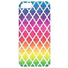 Colorful Rainbow Moroccan Pattern Apple Iphone 5 Classic Hardshell Case