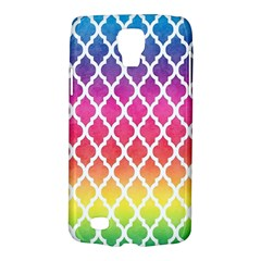 Colorful Rainbow Moroccan Pattern Galaxy S4 Active