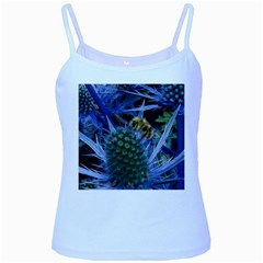 Chihuly Garden Bumble Baby Blue Spaghetti Tank