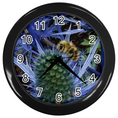 Chihuly Garden Bumble Wall Clocks (black)