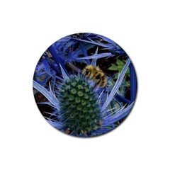 Chihuly Garden Bumble Rubber Coaster (round)