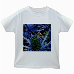 Chihuly Garden Bumble Kids White T Shirts