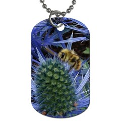 Chihuly Garden Bumble Dog Tag (one Side)