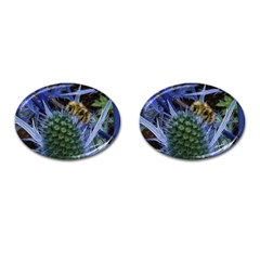 Chihuly Garden Bumble Cufflinks (oval)