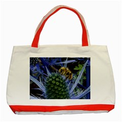 Chihuly Garden Bumble Classic Tote Bag (red)