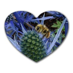 Chihuly Garden Bumble Heart Mousepads