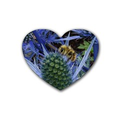 Chihuly Garden Bumble Heart Coaster (4 Pack)
